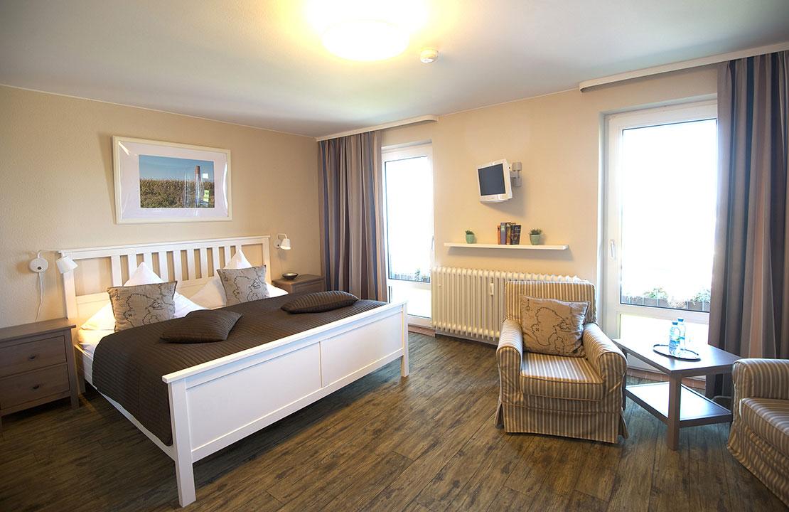 Hotel Admiral Scheer Doppelzimmer